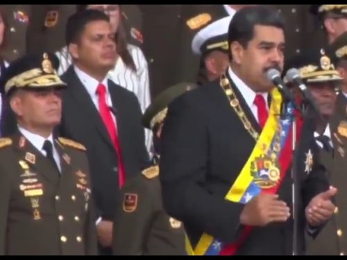 """""""Aqui se riende Nada!"""" L'attentato a Maduro rende EVIDENTE il complotto imperialista contro il Venezuela!"""
