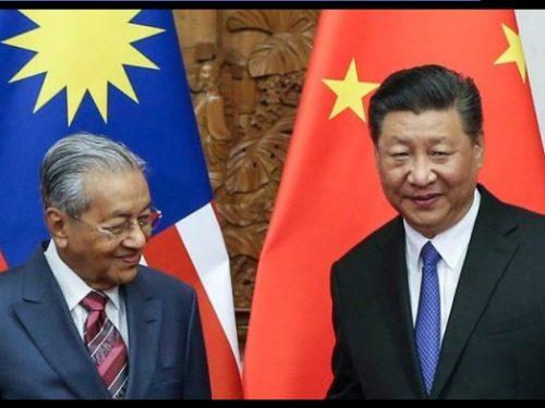 Come previsto, dopo l'allontanamento dai Saoud, la Malesia rinforza l'intesa con la Cina!