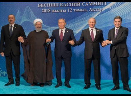 Accordo tra Russia, Iran, Azerbaigian, Kazakhstan e Turkmenistan per lo status del Mar Caspio!