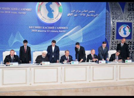 La Convenzione sul Mar Caspio: qualche dato, molti numeri e qualche riflessione!